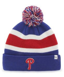 Philadelphia Phillies Breakaway Cuff Knit Royal 47 Brand Hat