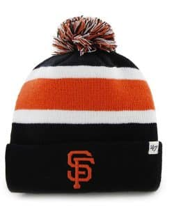 San Francisco Giants Breakaway Cuff Knit Black 47 Brand Hat