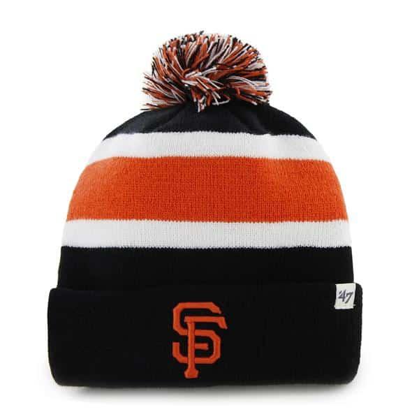 San Francisco Giants Breakaway Cuff Knit Black 47 Brand Hat