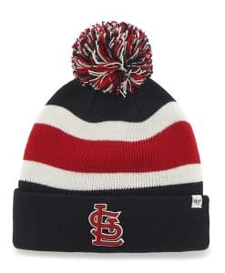 St. Louis Cardinals Breakaway Cuff Knit Navy 47 Brand Hat