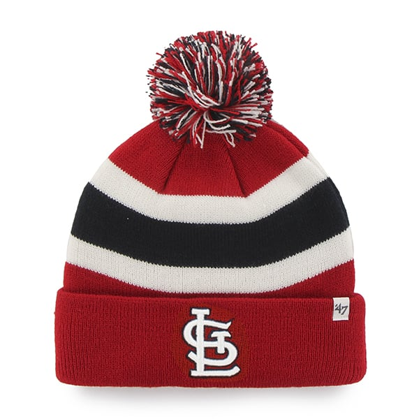 St. Louis Cardinals Breakaway Cuff Knit Red 47 Brand Hat