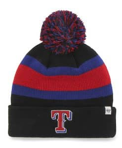Texas Rangers Breakaway Cuff Knit Black 47 Brand Hat