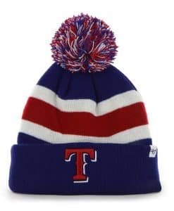 Texas Rangers Breakaway Cuff Knit Royal 47 Brand Hat