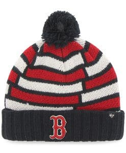 Boston Red Sox Breakout Cuff Knit Navy 47 Brand Hat