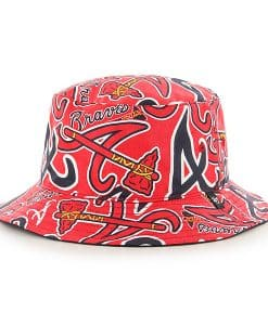 Atlanta Braves Bravado Bucket 47 Brand Hat