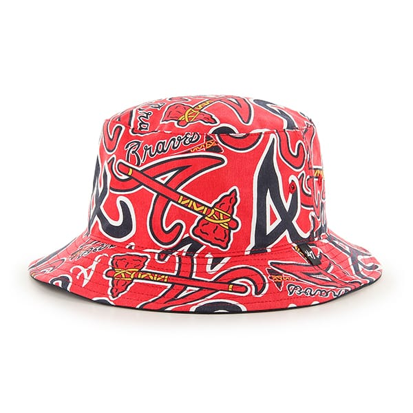 Atlanta Braves Bravado Bucket 47 Brand Hat