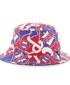 5531b8f34f436 Philadelphia Phillies 47 Brand Bravado Bucket Hat