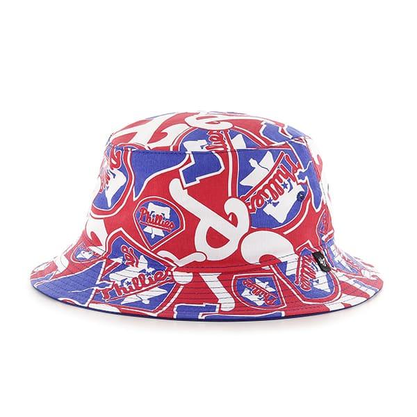 Philadelphia Phillies 47 Brand Bravado Bucket Hat