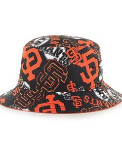 San Francisco Giants Bravado Bucket White 47 Brand Hat
