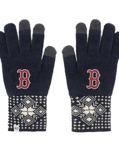 Boston Red Sox Women's 47 Brand Camden Navy Gloves