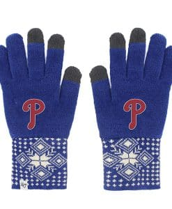 Philadelphia Phillies Women's 47 Brand Blue Camden Gloves