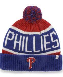 Philadelphia Phillies Calgary Cuff Knit Red 47 Brand Hat