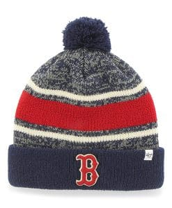 Boston Red Sox Fairfax Cuff Knit Light Navy 47 Brand Hat