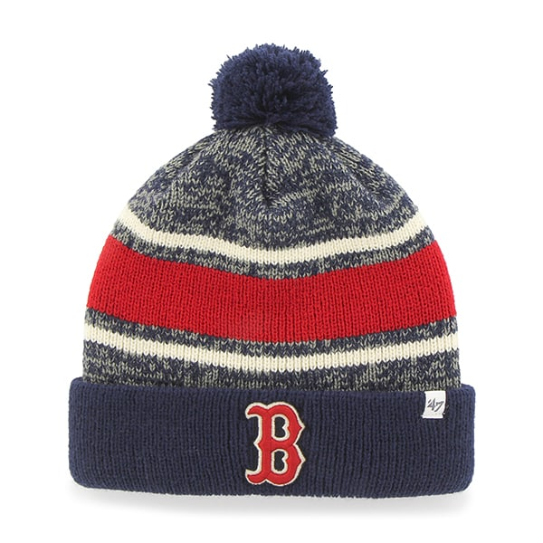 Boston Red Sox Fairfax Cuff Knit Light Navy 47 Brand Hat