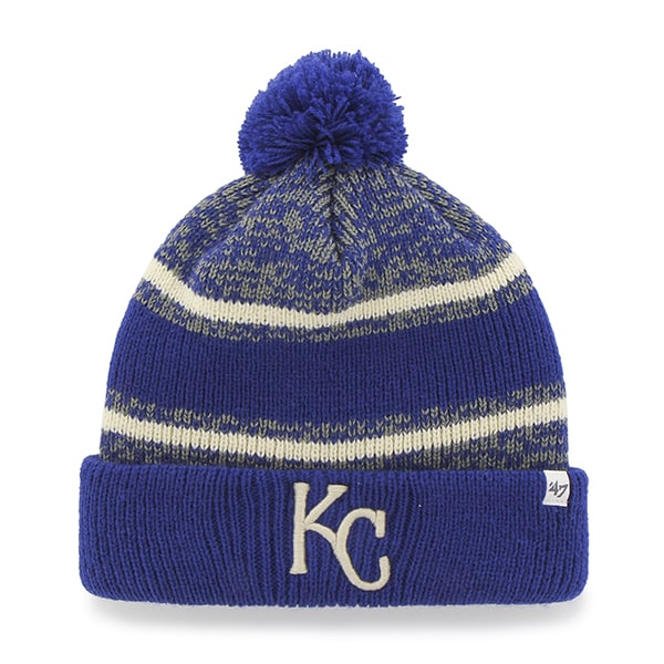 Kansas City Royals Fairfax Cuff Knit Royal 47 Brand Hat