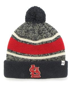 St. Louis Cardinals Fairfax Cuff Knit Navy 47 Brand Hat