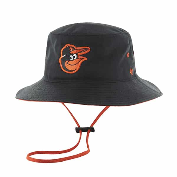 Baltimore Orioles Kirby Bucket Black 47 Brand Hat