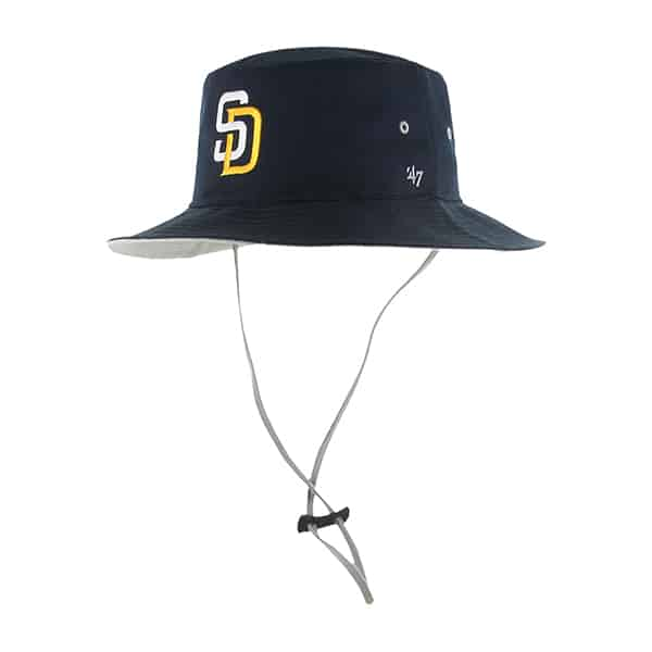San Diego Padres Kirby Bucket Navy 47 Brand Hat