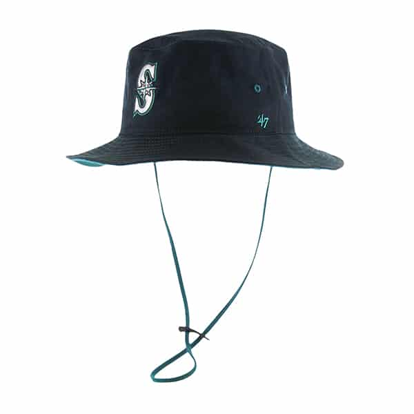 Seattle Mariners Kirby Bucket Navy 47 Brand Hat