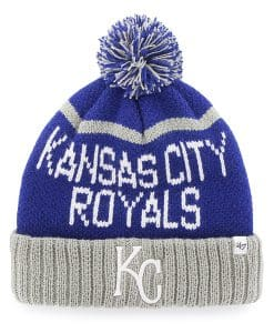 Kansas City Royals Linesman Cuff Knit Royal 47 Brand Hat