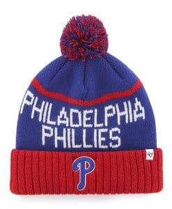 Philadelphia Phillies Linesman Cuff Knit Royal 47 Brand Hat