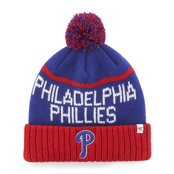 Philadelphia Phillies Linesman Cuff Knit Royal 47 Brand Hat