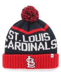 St. Louis Cardinals Linesman Cuff Knit Navy 47 Brand Hat
