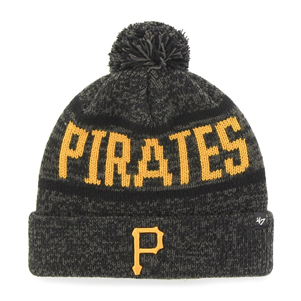 Pittsburgh Pirates Northmont Cuff Knit Charcoal 47 Brand Hat