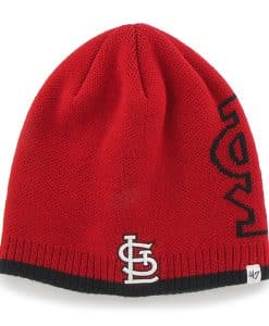St. Louis Cardinals Peaks Beanie Red 47 Brand Hat