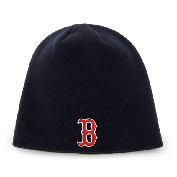 Boston Red Sox Raised Beanie Navy 47 Brand Hat