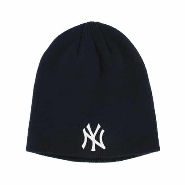 New York Yankees Raised Beanie Navy 47 Brand Hat