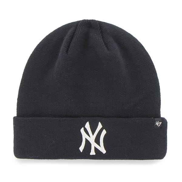 New York Yankees Recluse Cuff Knit Navy 47 Brand Hat ...