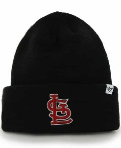 St. Louis Cardinals Raised Cuff Knit Navy 47 Brand Hat