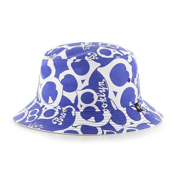 Los Angeles Dodgers Bravado Cooperstown White 47 Brand Bucket Hat - Detroit  Game Gear 0612ceb2633