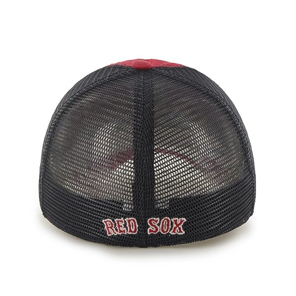 Red Sox 47 Brand Red Taylor Closer Mesh Stretch Fit Hat