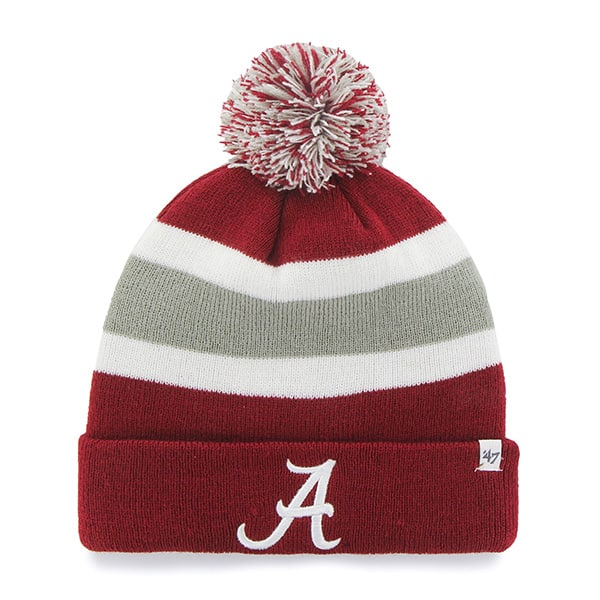 Alabama Crimson Tide Breakaway Cuff Knit Razor Red 47 Brand Hat