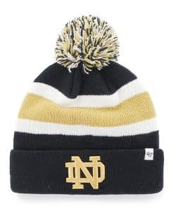 Notre Dame Fighting Irish Breakaway Cuff Knit Navy 47 Brand Hat