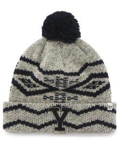 Yale Bulldogs Brookfield Cuff Knit Gray 47 Brand Hat