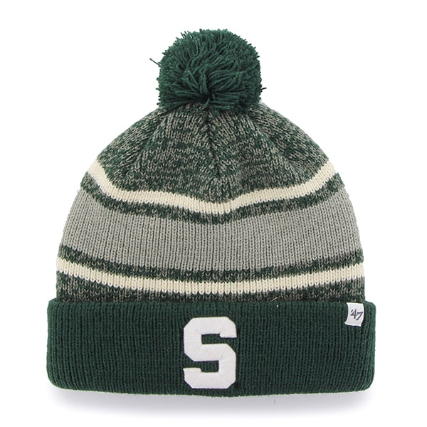 Michigan State Spartans Fairfax Cuff Knit Dark Green 47 Brand Hat
