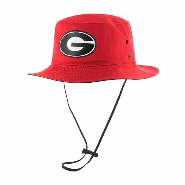 Georgia Bulldogs 47 Brand Red Kirby Bucket Hat