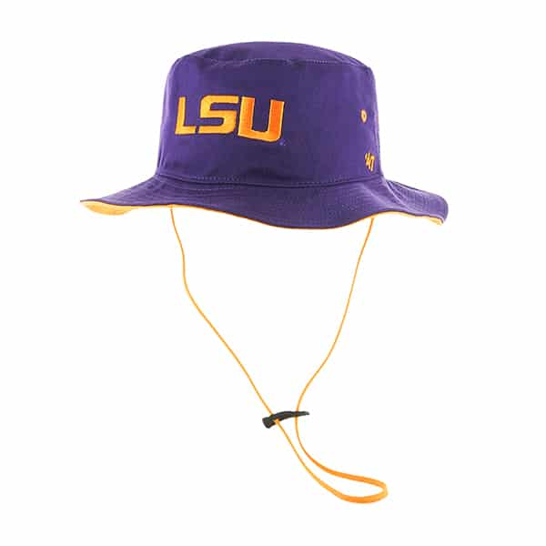 13448dd3c2227d Louisiana State Tigers Lsu Kirby Bucket Purple 47 Brand Hat - Detroit Game  Gear