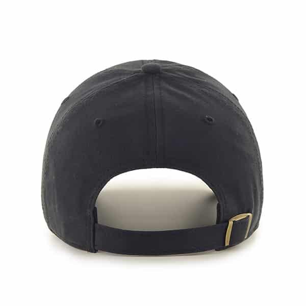 Detroit Lions Miata Clean Up Black 47 Brand Womens Hat Back
