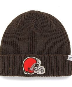 Cleveland Browns Amesbury Cuff Knit Brown 47 Brand Hat