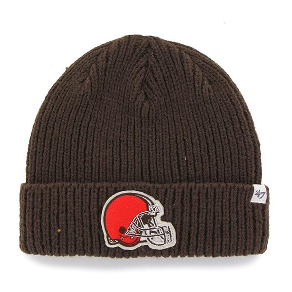 Cleveland Browns Amesbury Cuff Knit Brown 47 Brand Hat