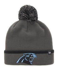 Carolina Panthers Baraka Cuff Knit Charcoal 47 Brand Hat