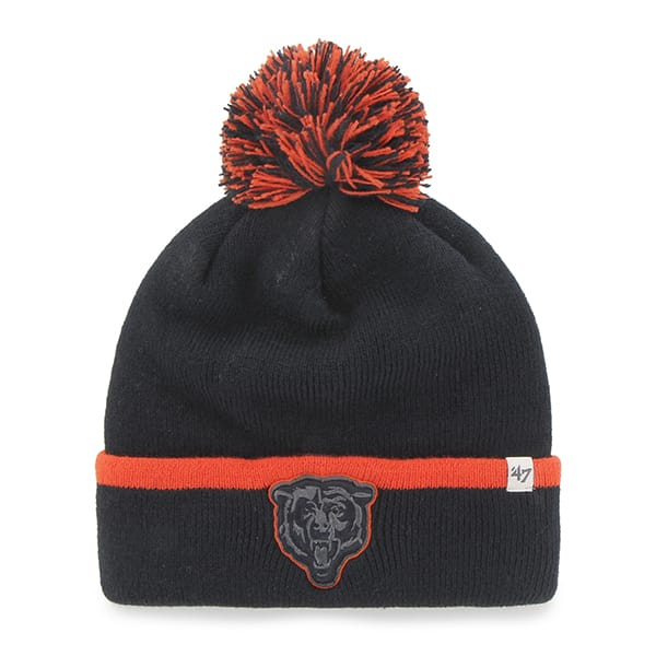 Chicago Bears Baraka Cuff Knit Navy 47 Brand Hat