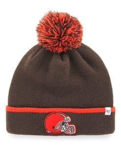 new product 8f769 026f6 Cleveland Browns Baraka Cuff Knit Brown 47 Brand Hat