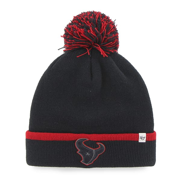 Houston Texans Baraka Cuff Knit Navy 47 Brand Hat