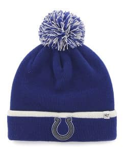 Indianapolis Colts Baraka Cuff Knit Royal 47 Brand Hat