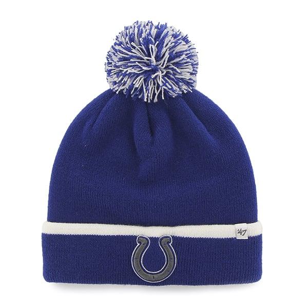 Indianapolis Colts Baraka Cuff Knit Royal 47 Brand Hat